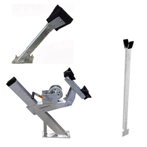 Boat Trailer Winch Stand Assemblies