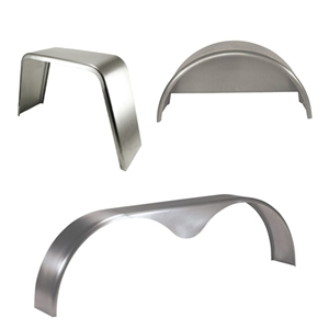 Trailer Fenders Steel 16 Gauge