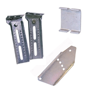 Trailer Bunk Bracket Light Duty Flat