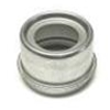 Dexter E-Z Lube Grease Cap, 5.2k - 6k Axle Hubs With 2.44 Diameter, Cap Only - Matching Rubber Plug Sku# 27-379