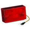 Wesbar Waterproof 4x6 Low Profile 8-Function Taillight, Left/Roadside