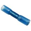 CONNECTOR, BUTT, HEAT SHRINK, ENDS, 16/14 AWG, SEMI-RIGID BLUE