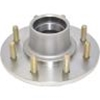 "Image - Trailer Hub, 1-3/4"" X 1-1/4"" Bearings, 8 X 6.5"" Bolt Pattern, Stainless Steel, Includes Races. Kodiak Brand."
