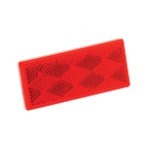 "Image - Reflector,Red 1-1/2"" X 3-1/4"" Wesbar"