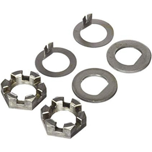 "Image - Spindle Nut Kit 1"" D-Flat & Tang Washers"
