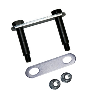 "Image - Shackle Plate 3-1/8"" W/ 9/16"" Bolts, Kit (Includes Links, Bolts, And Nuts)"