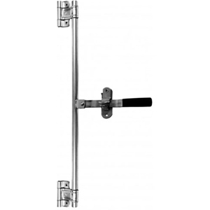 "Image - Cam Lock Bar 45"" Tall With Two Hinges, Complete Assembly"
