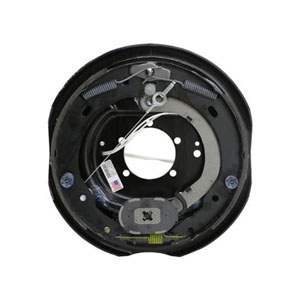 "Image - 12"" X 2"" Dexter Nev-R-Adjust Self-Adjusting Electric Backing Plate - Left Hand Side, Fits Up To 6000# Capacity Axle, Dexter # K23-458-00 (Sold As Each)"