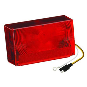 Image - Rectangular Incandescant Tail Light Left Hand Wesbar Brand