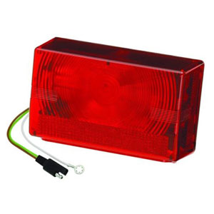 Image - Rectangular Icandescant Tail Light Right Hand Wesbar Brand