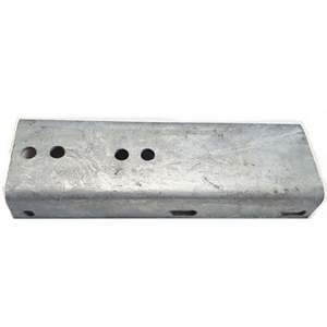 "Image - Fender Bracket Step For Plastic Fenders. Holes For Both 2"" And 3"" Frames. 4"" X 12"" Dimension. Sold As Each"