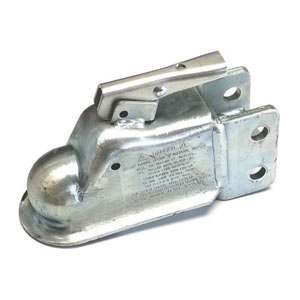 COUPLER, CLASS IV ADJUSTABLE / PLATED, 20K / 2-5/16TH  BALL
