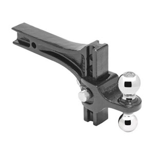 "Image - Adjustable 2"" & 2-5/16"" Ball Mount 10K# / 14K# Rating, Pro Series."
