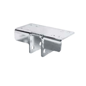Image - Dexter Torsion Bracket Marine Mount Flat Galvanized (Pair) 86716
