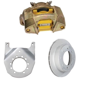 "Image - Dexter Marine / Tie Down 13"" Cap Style Vented Disc Brake Kit, 8 X 6.5"" Bolt Pattern, Galvx Finish"