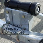 "Image - Keel Roller Riser Kit, Adds 2"" Height (Mounts To Cross Member)"