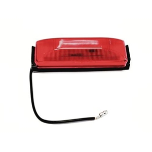 "Image - Red Led Marker Light, 1"" X 4"", Optronics Brand"