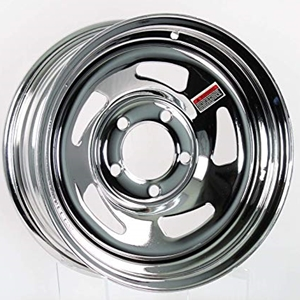 "Image - 15"" X 5"" Rim - 5 On 4-1/2"" Chrome Directional (20450)"