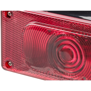Image - Rectangular Incandescant Tail Light Aero Pro Left Hand Optronics Brand