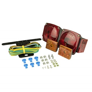 "Image - Tail Light Kit, Square, Submersible, And Incandescent. Approved For Trailers Under 80"". Blazer"