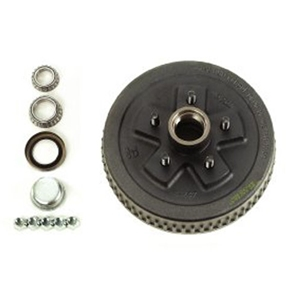 "Image - Dexter 10"" Brake Drum, 5 X 4.5"" Bolt Pattern, Pre-Greased. Fits Hydraulic Or Electric Brakes (Alternative To # 0009)"