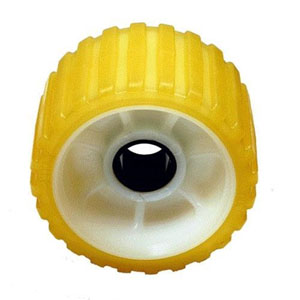 "Image - Ez Loader Replacement Roller 5""X3"" Yellow Tpr 1"" Shaft 500Gw-8Pez"