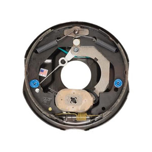 "Image - 10"" X 2-1/4"" Dexter Nev-R-Adjust Self-Adjusting Electric Backing Plate - Right Hand Side, Fits Up To 3500# Capacity Axle, Dexter # K23-469-00 (Sold As Each)"