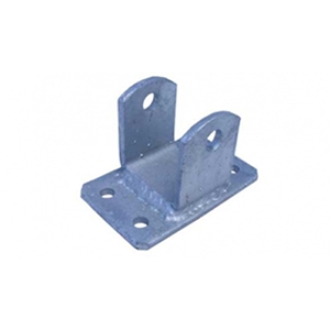 "Image - Hanger-Spring Front/Rear Aluminum Hd, Four 3/8"" Mounting Holes, 1/2"" Spring Bolt Hole"
