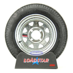 Image - 4.80-12 4-Ply 4-Lug Galvanized Load Star Brand (Order As Each Or Pair). OBS