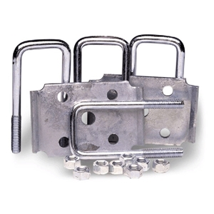 "Image - Tie Plate Kit 2"" Square 2"" Axle 7.25"""