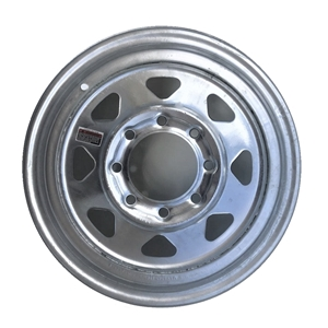 "Image - 16"" X 6 "" Rim - 8 On 6-1/2"" Galvanized Spoke"